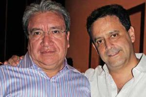 Alfonso Beristain con José Luis Corona (DDEQSA)