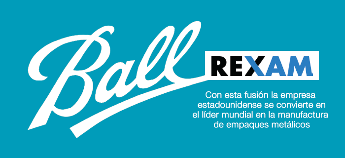 Ball Corporation adquiere a la empresa Rexam PLC