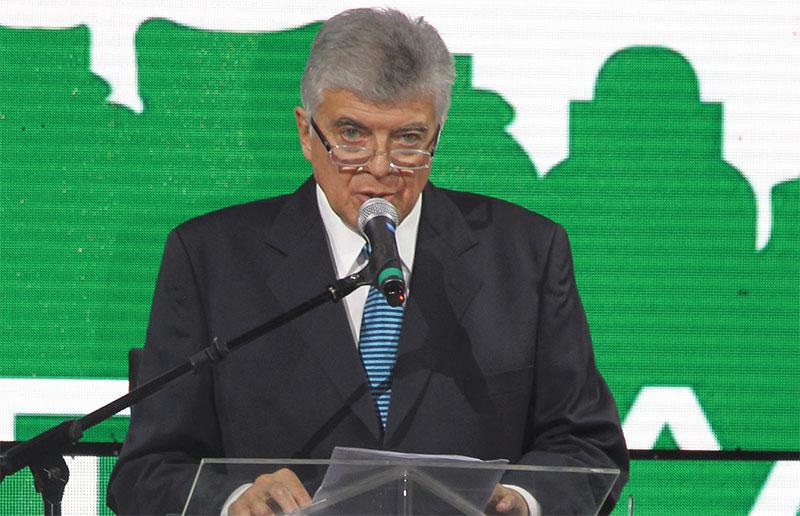 Rubén Tordini saludó a los asistentes y los felicitó por el año que comienza.