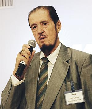 Geno Nardini, Presidente del Instituto Mexicano del Aerosol A.C. (IMAAC) dio el mensaje de apertura