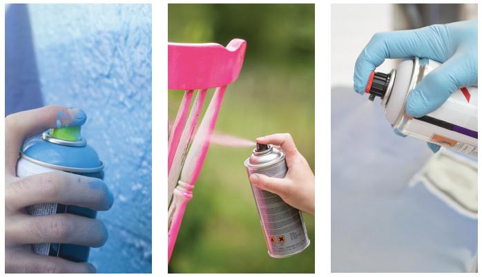 Pinturas en aerosol un gran reto aerosol la revista - Pintura con spray ...